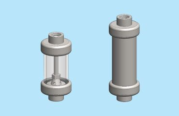 Drain vessels for coalescing applications
