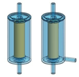 Disposable in-line filters - two sizes