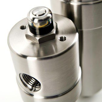 Hydraulic filters for high pressure applications